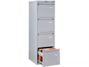 Шкаф металлический картотечный ПРАКТИК А-44 купить на выгодных условиях в Брянске
