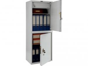 Шкаф металлический для хранения документов ПРАКТИК SL-125/2Т купить на выгодных условиях в Брянске