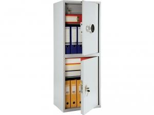 Шкаф металлический бухгалтерский ПРАКТИК SL-125/2Т EL купить на выгодных условиях в Брянске