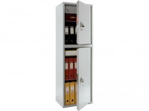 Шкаф металлический бухгалтерский ПРАКТИК SL-150/2Т купить на выгодных условиях в Брянске