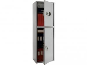 Шкаф металлический бухгалтерский ПРАКТИК SL-150/2Т EL купить на выгодных условиях в Брянске