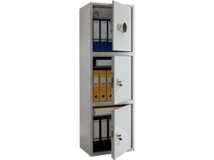 Шкаф металлический для хранения документов ПРАКТИК SL-150/3Т EL купить на выгодных условиях в Брянске