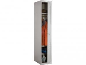 Шкаф металлический для одежды NOBILIS NL-01 купить на выгодных условиях в Брянске