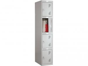 Шкаф металлический для одежды NOBILIS NL-04 купить на выгодных условиях в Брянске