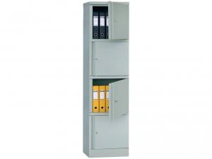 Шкаф металлический для хранения документов ПРАКТИК AM 1845/4 купить на выгодных условиях в Брянске