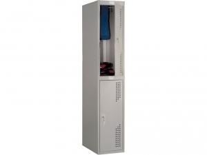 Шкаф металлический для одежды NOBILIS NL-02 купить на выгодных условиях в Брянске
