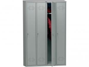 Шкаф металлический для одежды ПРАКТИК LS(LE)-41 купить на выгодных условиях в Брянске