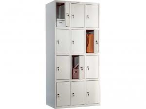 Шкаф металлический для одежды ПРАКТИК LS(LE)-34 купить на выгодных условиях в Брянске