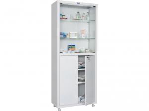 Металлический шкаф медицинский HILFE MD 2 1670/SG купить на выгодных условиях в Брянске