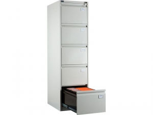 Шкаф металлический картотечный NOBILIS NF-05 купить на выгодных условиях в Брянске