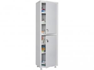 Металлический шкаф медицинский HILFE MD 1 1650/SS купить на выгодных условиях в Брянске