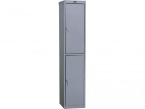 Шкаф металлический для одежды NOBILIS AL-02 купить на выгодных условиях в Брянске