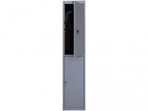 Шкаф металлический для одежды NOBILIS AL-002 купить на выгодных условиях в Брянске