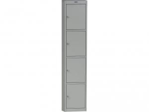 Шкаф металлический для одежды NOBILIS AL-04 купить на выгодных условиях в Брянске