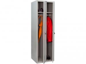 Шкаф металлический для одежды ПРАКТИК LS(LE)-21 купить на выгодных условиях в Брянске