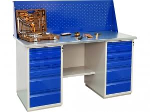 Верстак металлический ПРАКТИК WB 160Sh+WD5+WD5 купить на выгодных условиях в Брянске