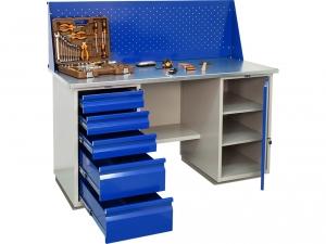 Верстак металлический ПРАКТИК WB 160Sh+WD1+WD5 купить на выгодных условиях в Брянске