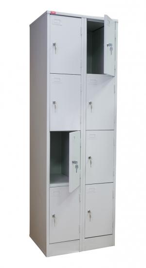 Шкаф металлический для сумок ШРМ - 28 купить на выгодных условиях в Брянске