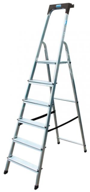 Лестница стремянка Safety 7 ступеней купить на выгодных условиях в Брянске