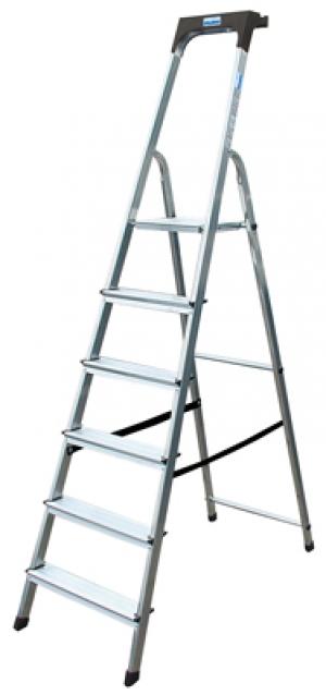Лестница стремянка Safety 6 ступеней купить на выгодных условиях в Брянске