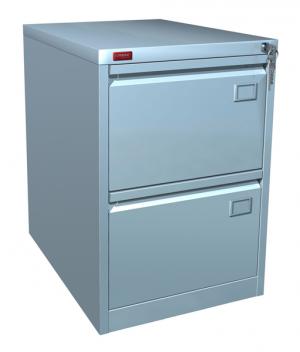 Шкаф металлический картотечный КР - 2 купить на выгодных условиях в Брянске
