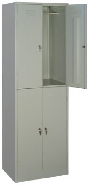 Шкаф металлический для одежды ШРМ - 24 купить на выгодных условиях в Брянске