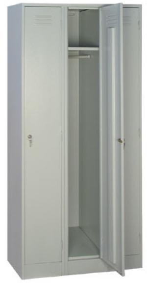 Шкаф металлический для одежды ШРМ - 33 купить на выгодных условиях в Брянске