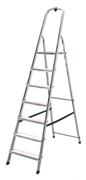 Лестница стремянка Solidy 7 ступеней купить на выгодных условиях в Брянске