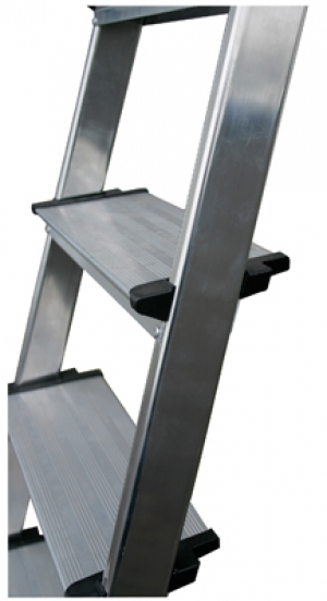 Лестница стремянка Secury 4 ступени купить на выгодных условиях в Брянске