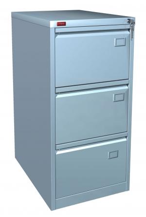 Шкаф металлический картотечный КР - 3 купить на выгодных условиях в Брянске