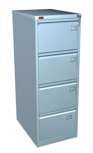 Шкаф металлический картотечный КР - 4 купить на выгодных условиях в Брянске