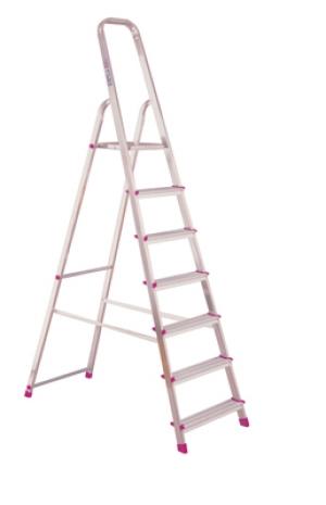 Лестница стремянка Corda 7 ступеней купить на выгодных условиях в Брянске