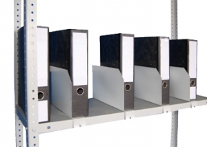 Папкодержатель 40 для стеллажа архивного металлического купить на выгодных условиях в Брянске