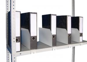 Папкодержатель усиленный 50 для металлического стеллажа купить на выгодных условиях в Брянске