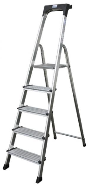 Лестница стремянка Secury 6 ступеней купить на выгодных условиях в Брянске