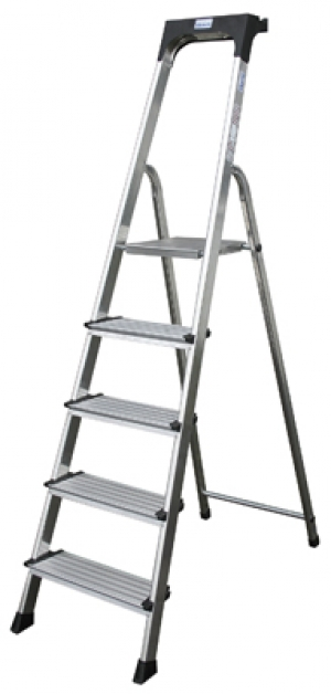 Лестница стремянка Secury 8 ступеней купить на выгодных условиях в Брянске
