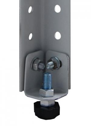 Подпятник (регулируемый) для металлического стеллажа купить на выгодных условиях в Брянске