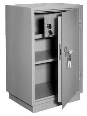 Шкаф металлический для хранения документов КБ - 012т / КБС - 012т купить на выгодных условиях в Брянске