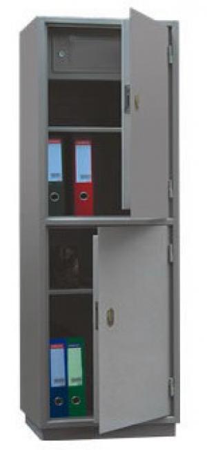 Шкаф металлический для хранения документов КБ - 032т / КБС - 032т купить на выгодных условиях в Брянске