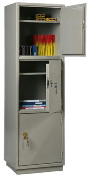 Шкаф металлический для хранения документов КБ - 033 / КБС - 033 купить на выгодных условиях в Брянске