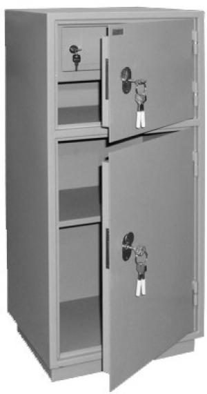 Шкаф металлический для хранения документов КБ - 042т / КБС - 042т купить на выгодных условиях в Брянске