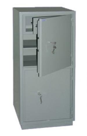 Шкаф металлический бухгалтерский КС-2Т купить на выгодных условиях в Брянске