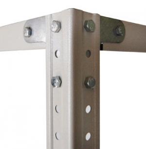 Комплект крепежа (1 комплект) для стеллажа архивного металлического купить на выгодных условиях в Брянске