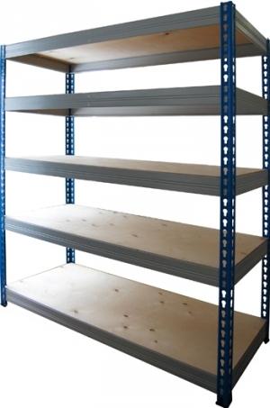 Стеллаж металлический складской 15765-2,5 купить на выгодных условиях в Брянске