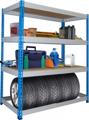 Стеллаж металлический складской 15614-2,5 купить на выгодных условиях в Брянске