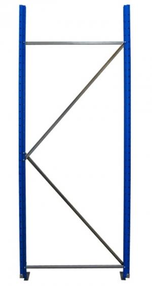 Рама для складского металлического стеллажа 2000x800 купить на выгодных условиях в Брянске