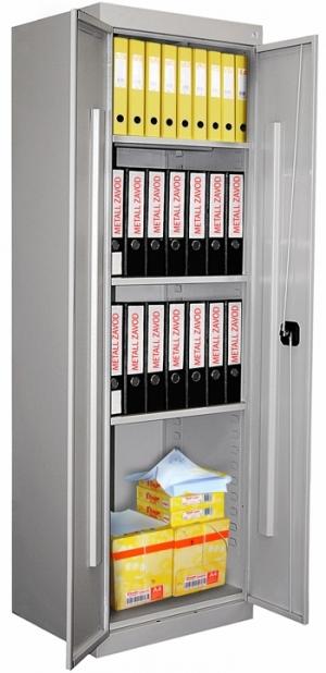 Шкаф металлический для хранения документов ШХА-850 купить на выгодных условиях в Брянске