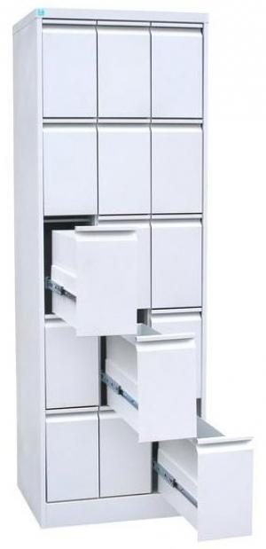 Шкаф металлический картотечный ШК-15 купить на выгодных условиях в Брянске