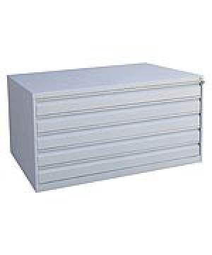 Шкаф металлический картотечный ШК-5-А0 купить на выгодных условиях в Брянске