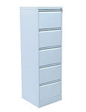 Шкаф металлический картотечный ШК-5 (5 замков) купить на выгодных условиях в Брянске